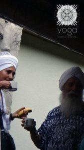 Los esposos Sikh Kulwant y Hari Nam