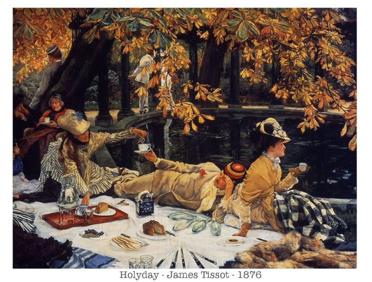 James Tissot - Holyday